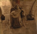 Angel Headstop in the South Chancel
