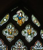 14th Century Stained Glass in the Woodman Window