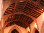 The Nave vaulted roof